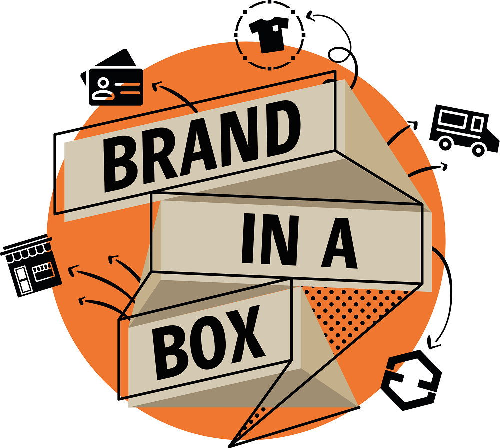 Get Your Business Branding Together with Our Brand-in-a-Box!